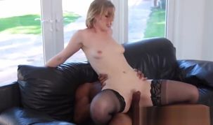 Ella Nova Takes Care Of Her Big black..