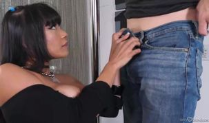 Aryana Amatista is a gigantic titted,..